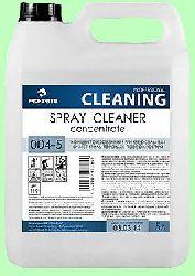 Моющий SPRAY CLEANER  5л  концентрат (1:80) универсальный для твердых поверхностей  pH9,5  004-5