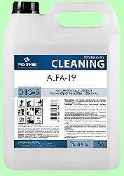 Для послестроя ALFA-19  5л  концентрат (1:100) цемент, раствор, известь, высолы, ржавчина  pH1,5  013-5