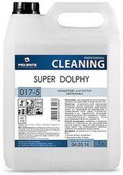 Для сантехники SUPER DOLPHY 5л концентрат-гель (1:50) на основе щавелевой кислоты pH1  017-5
