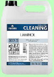 Для пола LAMINOL  5л  конц. (1:80) низкопенный для ламината с блеском  pH10  023-5