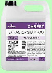 Для ковров шампунь EXTRACTOR SHAMPOO  5л  концентрат (1:50) Эко  pH11,5  024-5