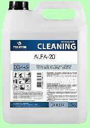 Для послестроя ALFA-20  5л  концентрат (1:100) цемент, раствор, известь, высолы, ржавчина, клей  pH1,5 034-5