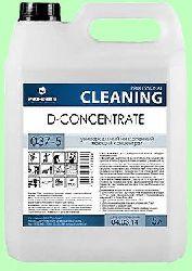 Моющий D-CONCENTRATE  5л  концентрат (1:130) универсальный низкопенный Американский стандарт  pH11  037-5
