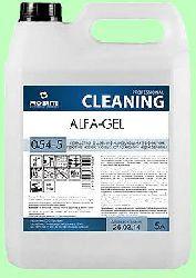 Для сантехники ALFA-GEL  5л  концентрат-гель (1:50) дезинфицирующий  pH2  054-5