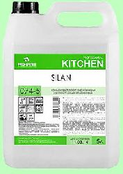 Для посудомоечных машин SILAN  5л концентрат (1:10) низкопенный против накипи, извести, ржавчины  pH2  074-5