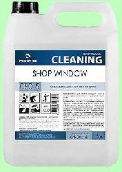 Для стекол SHOP WINDOW  5л  для уличных витрин готовый раствор  pH12  080-5