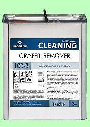 Для чистки граффити GRAFFITI  3л  от следов граффити-красок и маркера готовый раствор  pH7 100-3
