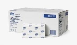 Система полотенец TORK CLASSIC (ZZ): Полотенца TORK Premium сложение ZZ мягкие Н3 CLASSIC system 170листов 2-слоя 23см/23см Белый 15упак/коробке
