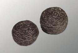 Очищающая спираль Инокс  металлик  40г (10шт/упак) (5упак/кор)