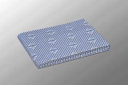 Тряпка для мытья полов  синий  59х50см  5шт/упак  (12упак/кор)