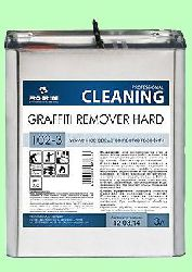 Для чистки граффити-красок GRAFFITI HARD  3л  от следов масляных, акриловых, пентафталевых красок, маркеров  pH7 102-3