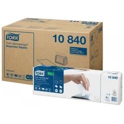 Салфетки диспенсерные 10840 TORK Universal  IF N4 Белые 1слой  (225л*5пачек = 1 упаковка) ->(8 упаковок в коробке)