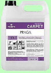 Для ковров шампунь PRAGA  5л  концентрат (1:100) сухая пена с замедлителем повторного загрязн  pH9  110-5
