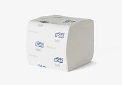 Туалетная бумага листовая TORK Premium Т4 System 252лист 2-сл 11/21 Белый 1/30