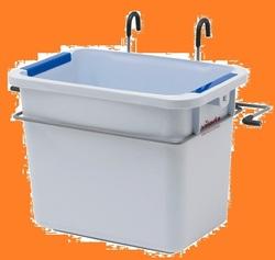 УльтраСпид: Дополнительный контейнер для тележки 2х25л МЕТАЛЛИК (1шт/упак) (5упак/кор)