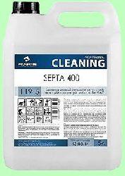 Для дезинфекции SEPTA 400  5л  концентрат (1:100) низкопенный на основе ЧАС  pH11  119-5