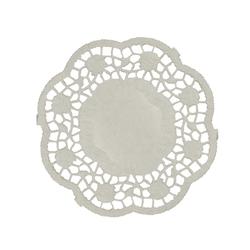 Салфетки кружевные  Ø 10см  1000л  Белые  PAP STAR 12291  1/10