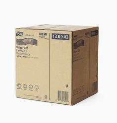 Бумага протирочная TORK Advanced Wiper 420 W3 Perfomance САЛФЕТКА многоцелевая W1/W2/W3 System 750л  2-сл  225/25,8  Белый (КОМБИ РУЛОН) 1/1