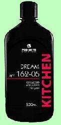 Для посуды DREAM  500мл  концентрат-гель (1:250) пенный  с блеском стекла  pH8  162-05