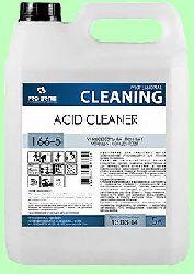 Моющий ACID CLEANER  5л  концентрат (1:50) пенный против ржавчины и известковых отложений  pH2 166-5