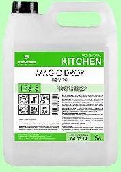 Для посуды MAGIC DROP Neutral  5л  концентрат (1:200) умеренной пенности   pH7  176-5