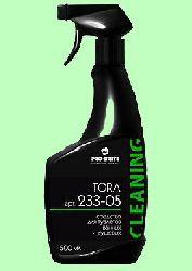 Для сантехники TORA  500мл  для туалетов, ванных и душевых готовый раствор с триггером  pH1,5  233-05