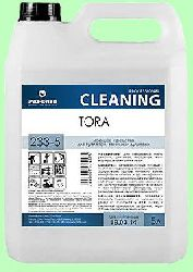 Для сантехники TORA  5л  туалетов, ванных и душевых готовый раствор  pH1,5  233-5