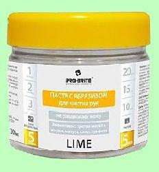 Паста чистящая для рук LIME  300мл  с абразивом  pH7  240-03