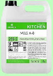 Для посудомоечных машин ополаскиватель MELS  A-8  5л концентрат (1:3000)  низкопенный для высокой жесткости воды  pH2  258-5