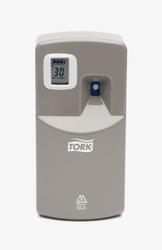 Диспенсер TORK для аэрозольного освежителя воздуха электронный  А1 System  металлик  1/6