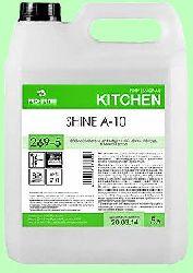 Для посудомоечных машин ополаскиватель SHINE А-10  5л  концентрат (1:3000)  низкопенный для мягкой воды  pH7  269-5