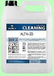 Моющий ALFA-50  5л  концентрат-гель (1:50) пенный против ржавчины, накипи, известковых отложений  pH2  284-5