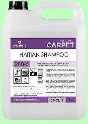 Для ковров шампунь HAITIAN SHAMPOO  5л  концентрат (1:4) деликатный для шерсти и натурального хлопка  pH7  288-5