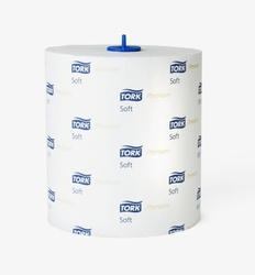 Система полотенец TORK MATIC: Полотенца в рулонах мягкие TORK Premium H1 MATIC system 400л 2-сл 100/21 Белый 1/6