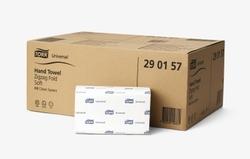 Система полотенец TORK CLASSIC (ZZ): Полотенца TORK Universal сложение ZZ Н3 CLASSIC  250листов 1-слой 23см/23см Белый  20упак/коробке
