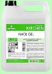 Для кухни AMOL GEL  5л  гель-концентрат чистка плит, грилей и духовых шкафов  t до 40°С  pH13  297-5
