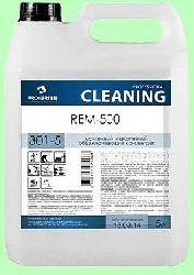 Моющий REM-500 5л концентрат (1:200) универсальный низкопенный обезжириватель усиленный против мазута, битума, масел pH11 301-5