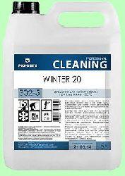 Для стекол WINTER 20  5л  для уличных витрин  t до -20°С готовый раствор  pH7  302-5