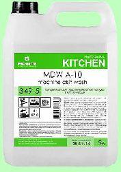 Для посудомоечных машин MDW A-10  5л  концентрат (1:2000) низкопенный для мягкой воды ЭКО  pH12  349-5