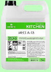 Для посудомоечных машин ополаскиватель MELS A-15  5л  концентрат (1:3000)  низкопенный для жесткой воды  pH2  350-5