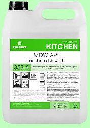 Для посудомоечных машин MDW  A-5  5л  концентрат (1:2000) низкопенный для мягкой воды  pH12  353-5