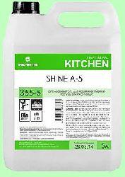 Для посудомоечных машин ополаскиватель SHINE  А-5  5л концентрат (1:3000)  низкопенный для мягкой средней жесткости воды  pH7  355-5