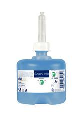 Жидкое мыло-гель для тела и волос TORK Premium 66 мини S2 System 0,475л 1/8
