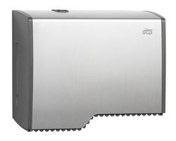 Диспенсер TORK металлический для туалетной бумаги в мини рулонах Т2 System Металл  1/1
