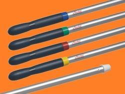 Усиленная алюминиевая ручка Металлик 150см  1шт/упак  (10шт/кор)