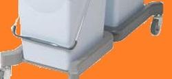 УльтраСпид: Каркас без колес (для 15 и 25 литрового ведра)  ГОЛУБОЙ (1шт/упак) (10упак/кор)