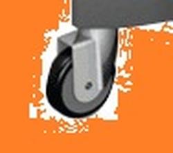 УльтраСпид: Колесо 75мм СЕРОЕ (1шт/упак) (12упак/кор)
