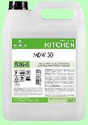 Для посудомоечных машин MDW 50  5л концентрат (1:2000) низкопенный отбеливающий и дезинфицирующий для средней жесткости воды pH12 526-5