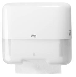 Система полотенец TORK CLASSIC (ZZ): Мини-диспенсер TORK для полотенец ZZ mini на 2 пачки Н3 CLASSIC system Белый