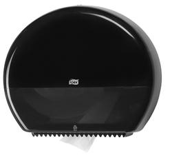 Диспенсер TORK для туалетной бумаги в больших рулонах (для рулонов 525м) Т1 System Черный 1/1